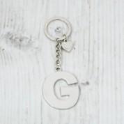 Alphabet keyring -G