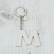 Alphabet keyring - M