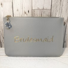 Slogan Pouch - Bridesmaid