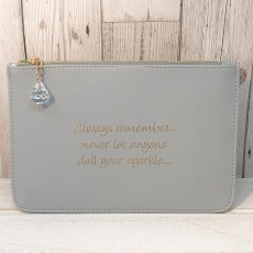 Slogan Pouch - Dull Sparkle