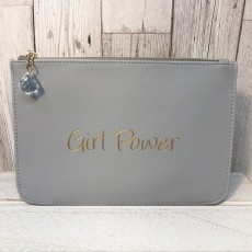 Slogan Pouch - Girl Power
