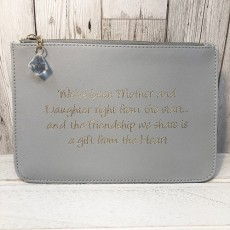 Slogan Pouch - Mother Daughter
