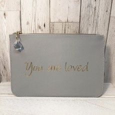 Slogan Pouch - You Are Loved