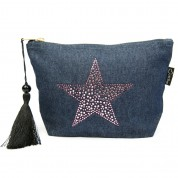 LTLBAG-Denim RS Amethyst Star
