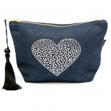 LTLBAG-Denim RS Clear Heart