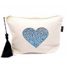 LTLBAG-Cream RS Blue Heart