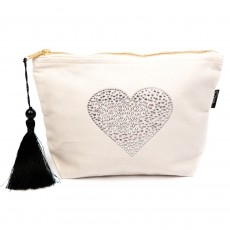 LTLBAG-Cream RS Clear Heart