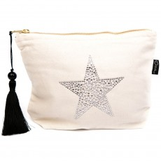 LTLBAG-Cream RS Clear Star