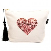 LTLBAG-Cream RS Red Heart