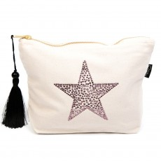 LTLBAG-Cream RS Amethyst Star