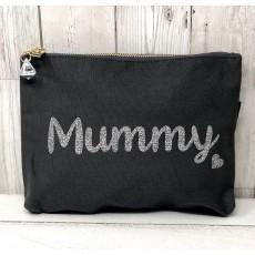 Bespoke Script Bag - Mummy Silver Font