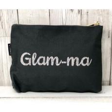 Bespoke Script Bag - Glam-ma Silver Font