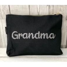 Bespoke Script Bag - Grandma Silver Font