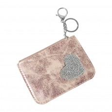 Keyring-Pouch Pink