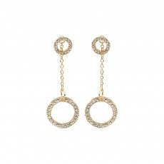 HE-Crystal Two Way-Yellow Gold