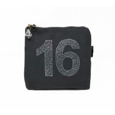 LTLBAG-Crystal Zip-Grey-16th