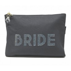 LTLBAG-Crystal Zip-Grey-Bride-Large