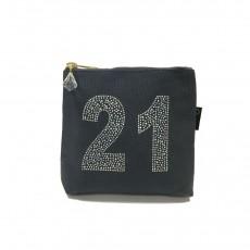 LTLBAG-Crystal Zip-Grey-21st