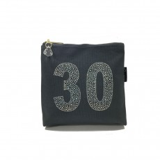 LTLBAG-Crystal Zip-Grey-30th