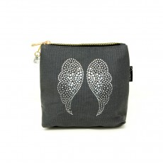 LTLBAG-Crystal Zip-Grey-Wings-Small