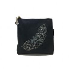 Velvet Bag-Feather