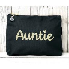 Bespoke Script Bag - Auntie Gold Font