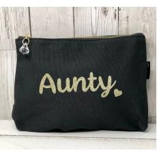 Bespoke Script Bag - Aunty Gold Font