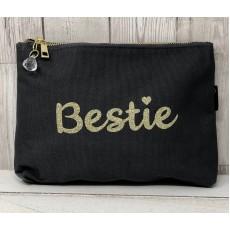 Bespoke Script Bag - Bestie Gold Font