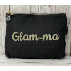 Bespoke Script Bag - Glam-ma Gold Font