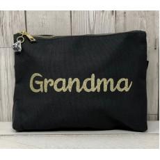 Bespoke Script Bag - Grandma Gold Font