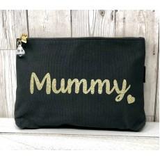 Bespoke Script Bag - Mummy Gold Font