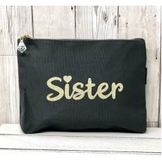 Bespoke Script Bag - Sister Gold Font