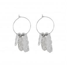 Feather 3D Earrings
