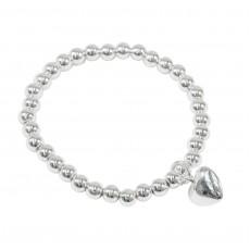 Ball Bracelet/Heart