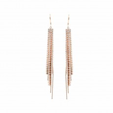 Cascading Sparkle Earrings RG