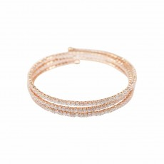 Winding Sparkly Bangle RG