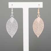 FJE-Leaf Simple Earrings