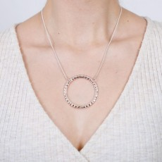 HN-Large Ring Necklace