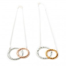 HN-Double Ring Necklace