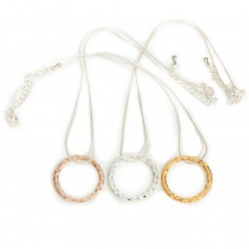 HN-Single Ring Necklace