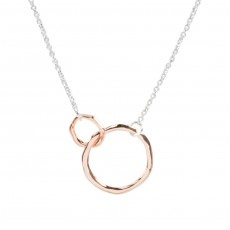 HN-Duo Circle Necklace