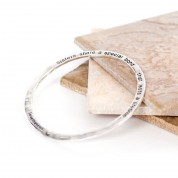 Hammered Sisters Bond Bangle
