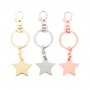 Metal Star Keyring