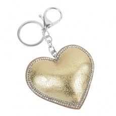 Keyring-Champagne Heart