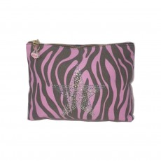 Zebra Large Pink Star