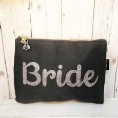 Bespoke Script Bag - Bride