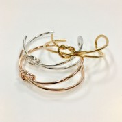 Double Friendship Knot Bangle