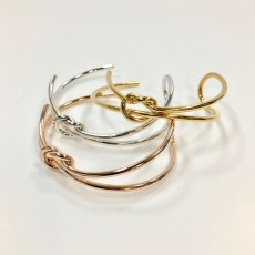 BG-Double Friendship Knot Bangle