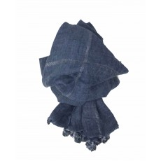 SC-Denim Blue Tassels