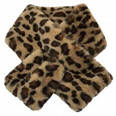 SC-Animal Fur Snood Brown